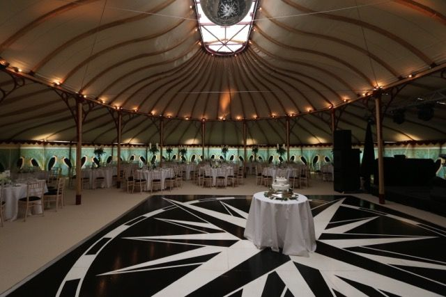 Our Orangery with Compass dance floor