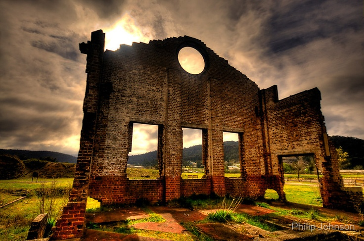 """""""Better Times - Blast Furnace Park -, Lithgow NSW Australia - The HDR Experience"""" by Philip Johnson   RedBubble"""