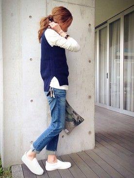 kayo│ZARAのTシャツ・カットソーコーディネート
