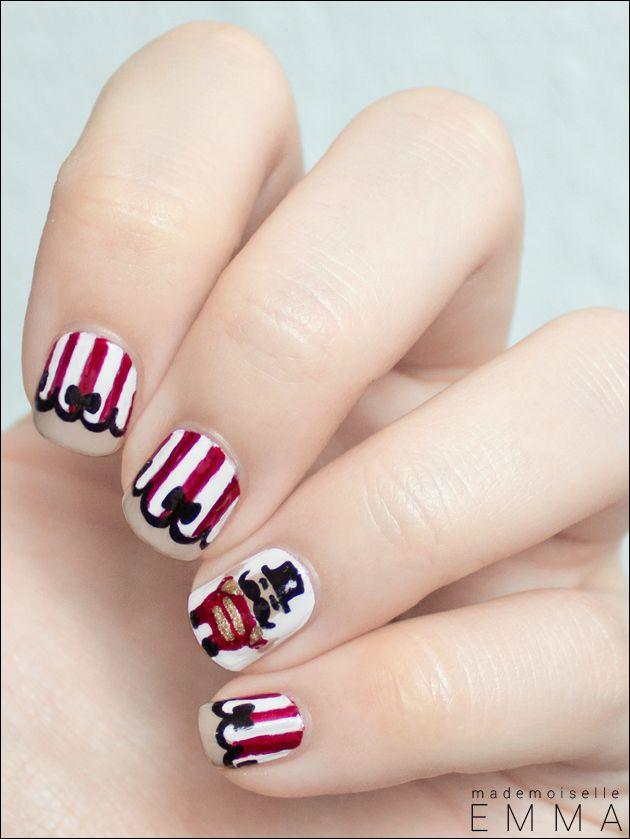 Circus  #nail #nails #nailart
