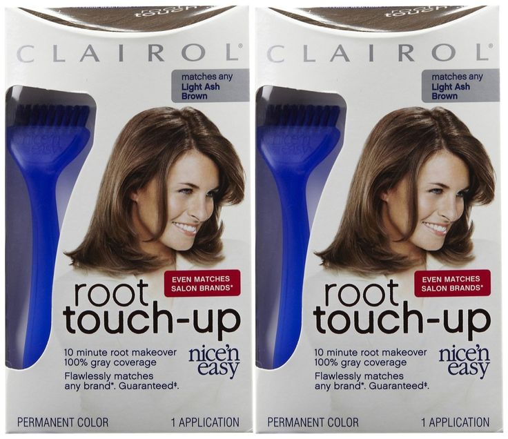 Clairol Nice n Easy Touch, Up, 006A, Light Ash Brown, 2 pk. Clairol Nice n Easy Touch, Up, 006A, Light Ash Brown, 2 pk.