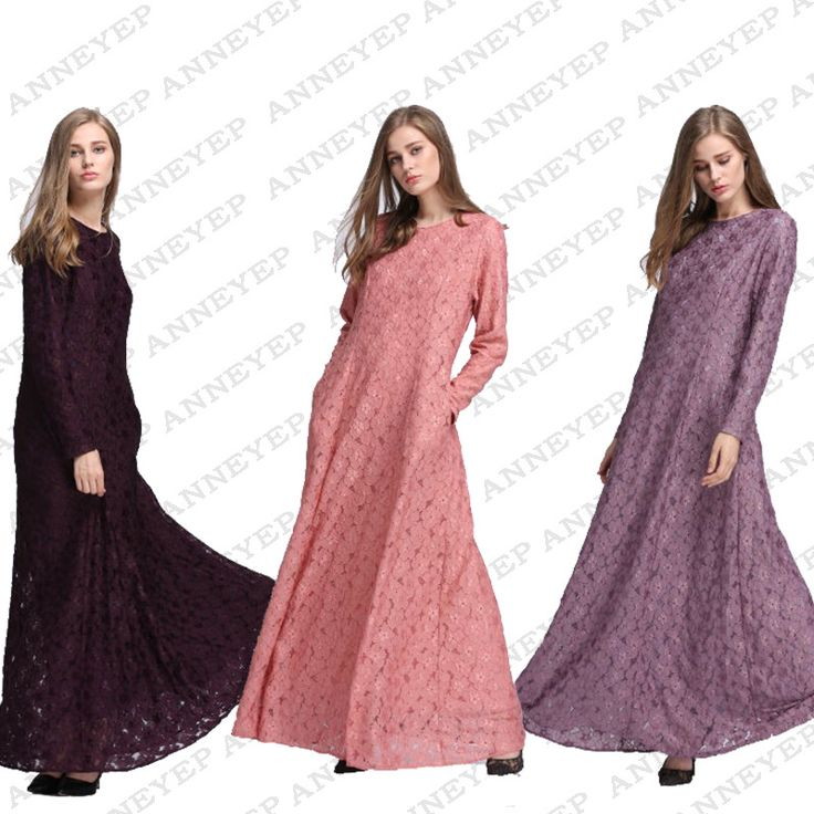 2017 Jilbabs And Abayas Adult Cotton Robe Musulmane Stylish New Hot Style Of Arabia Women's Wear Long Gown Dress Temperament #Abaya style