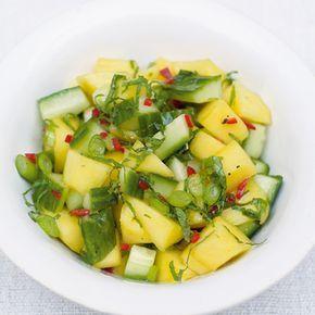 Salsa van mango & komkommer recept - Jamie magazine