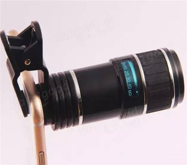 12X Universal Telephoto Lens Mobile Phone Optical Zoom ...