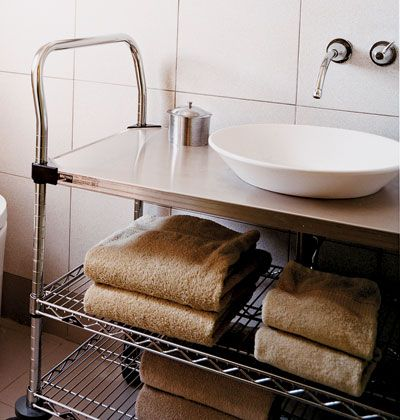 Photo On Love the sink and shelving