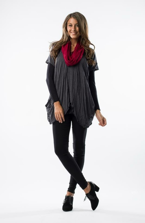 Vigorella Draped top $89.95