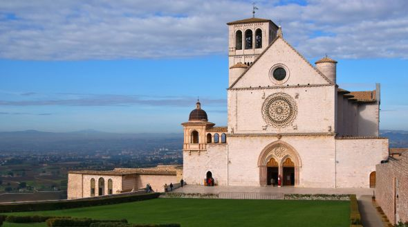 Assisi - The Basilica of St. Francis  A holy city for Christians, Assisi is an eternal destination for pilgrims wanting to the see the places where Saint Francis was born, where he worked, and where he died.