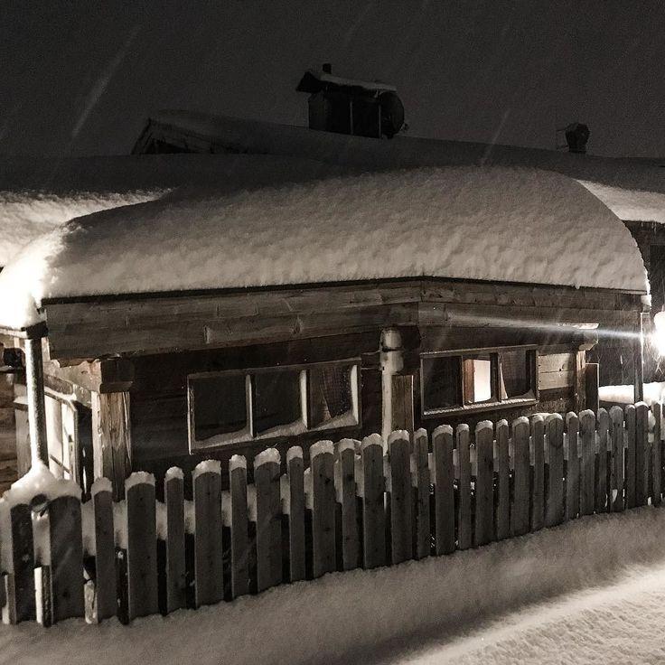 This morning  #soelden #sölden #schnee #neuschnee #snow