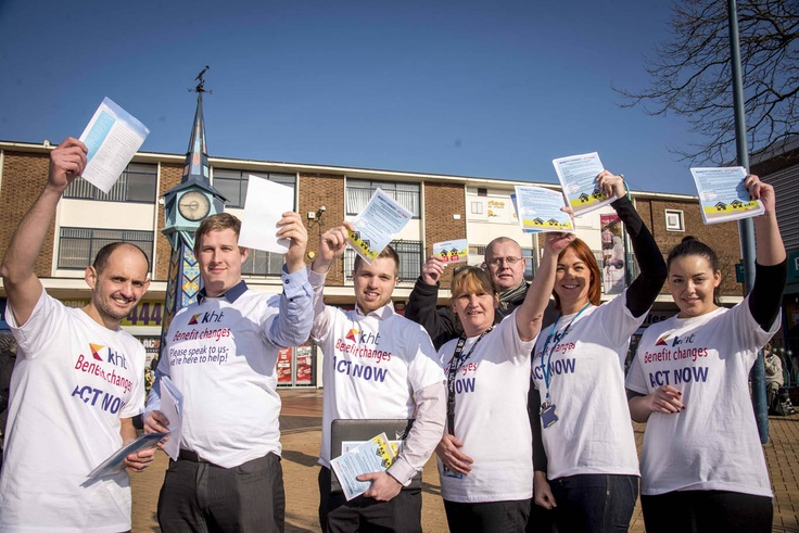 Our team where in Kirkby and Huyton last month to bring Welfare Reform advice to our tenants. If you missed them visit http://www.k-h-t.org/main.cfm?type=WELFAREREFORM for everything you need to know about the benefit changes!