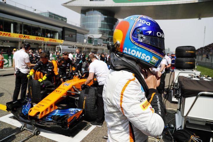 F1 Cina 2018, Alonso:'Sorpreso di non vedere una Ferrari troppo veloce alla fine'