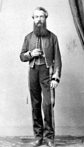 Colonel Moody, who's main job was to provide order in Barkerville.