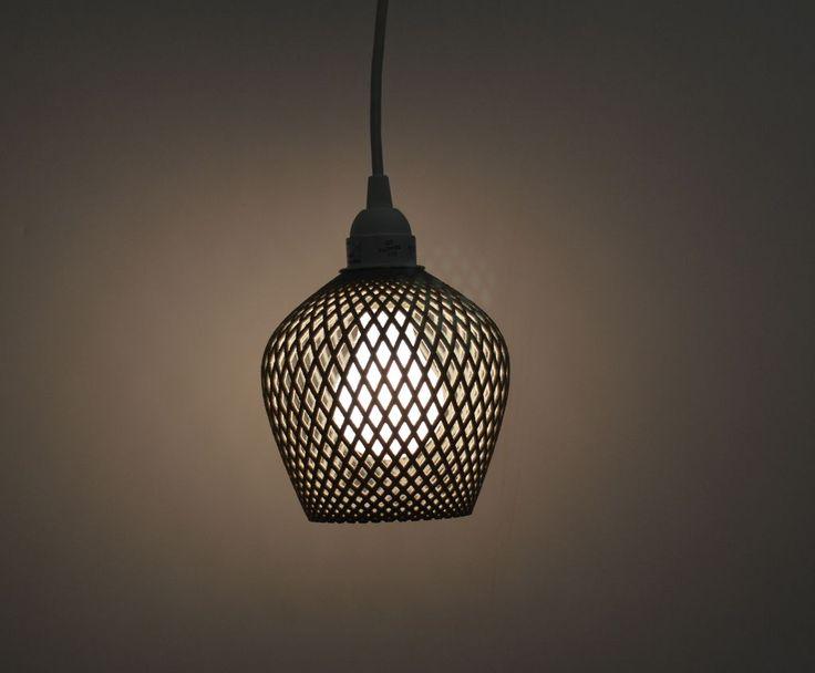 3D printed lamps by Samuel Bernier