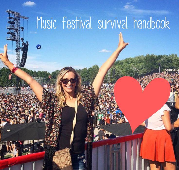 Music Festival Survival Handbook; tips to surviving a music festival