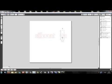 ▶ Silhouette Caméo - Ecrire avec Silhouette Studio - YouTube
