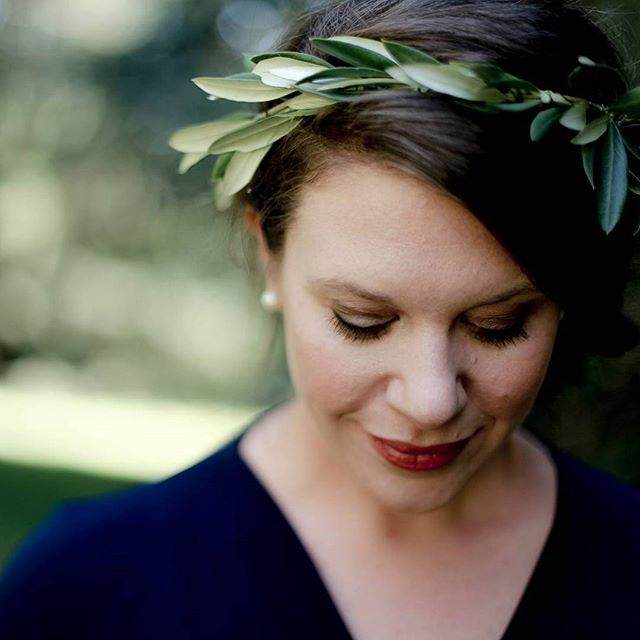 In January this year my husband and I did a 10 year anniversary photo shoot with @rose_plus_grace. I made the flower crown out of foraged olive leaf.   #blomsterbouquets #forage #foraged #greenery #blomst #flowers #nationalrhododendrongardens #melbourneflorist #dandenongranges #olinda #sassafras #kalorama