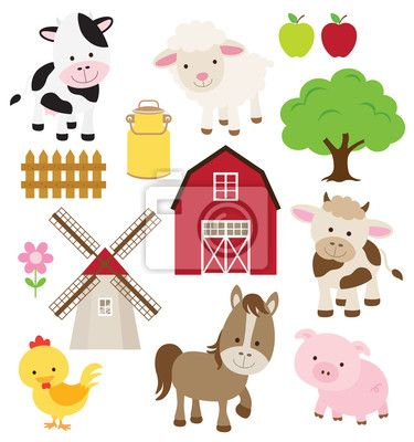 """Vinilos """"flor, cubo de leche, rústico - los animales de granja"""" ✓ Amplia selección de los materiales ✓ Ajustaremos el producto a tu medida ✓ ¡Comprueba las opiniones de nuestros clientes!"""
