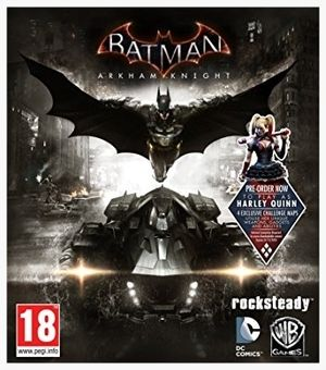 Batman Arkham Knight - This time, you get to drive the Batmobile.