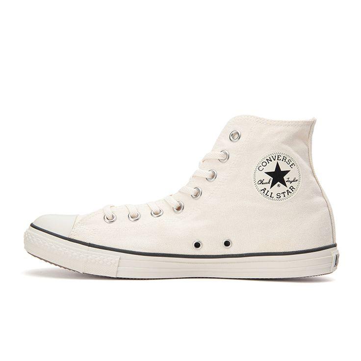 ALL STAR LP WASHED-CL HI(3 (22.0cm) ホワイト): シューズ|コンバース公式通販 | CONVERSE ONLINE SHOP