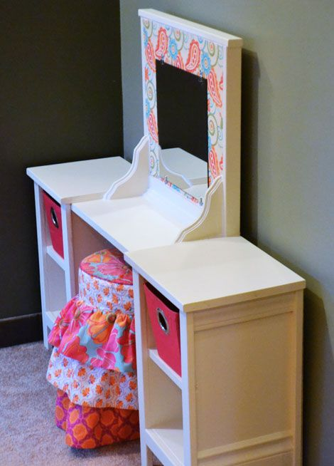 Vanity Mirror ideas and makeup station