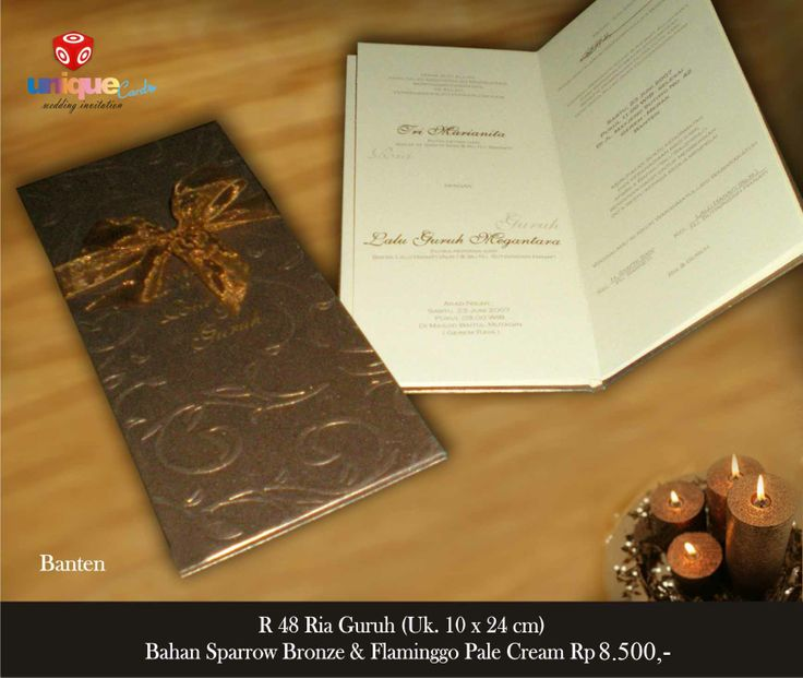 Let's see more unique wedding invitation from http://uniquecard.co.id | Fast Response » Phone: +628975757571 Pin: 2155A409