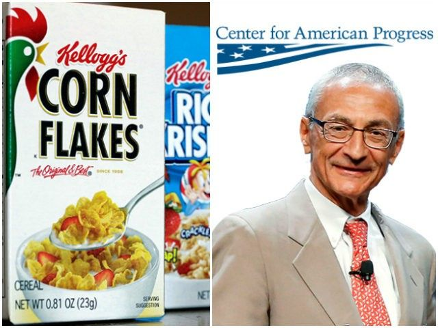 Kellogg Foundation Made Huge Grants to John Podesta's Center for American Progress  12/27/16