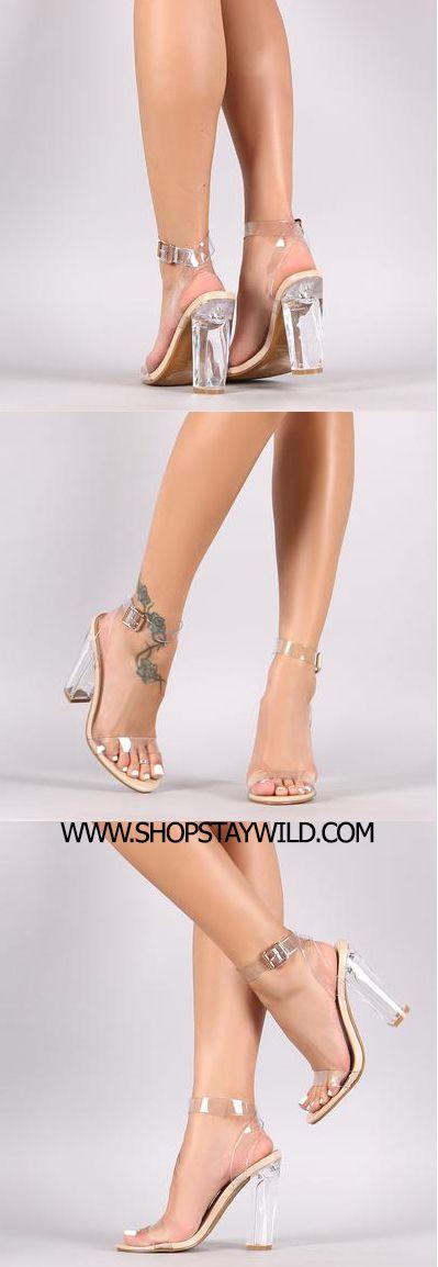 Transparent Heels www.shopstaywild.com #choker #jewelry #necklace #look #fashion #inspo #home #idea #recipe #clothing #tops #bottoms #plus size #purse #clutch #bag