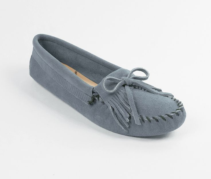Kilty Moccasin by Minnetonka: $42.98 // Color: Storm Blue (Soft Sole)