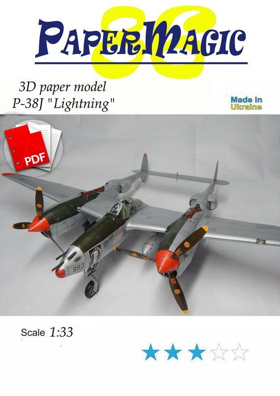 1943 LOCKHEED P-38 LIGHTNING Fighter Airplane Vintage Look REPLICA METAL SIGN
