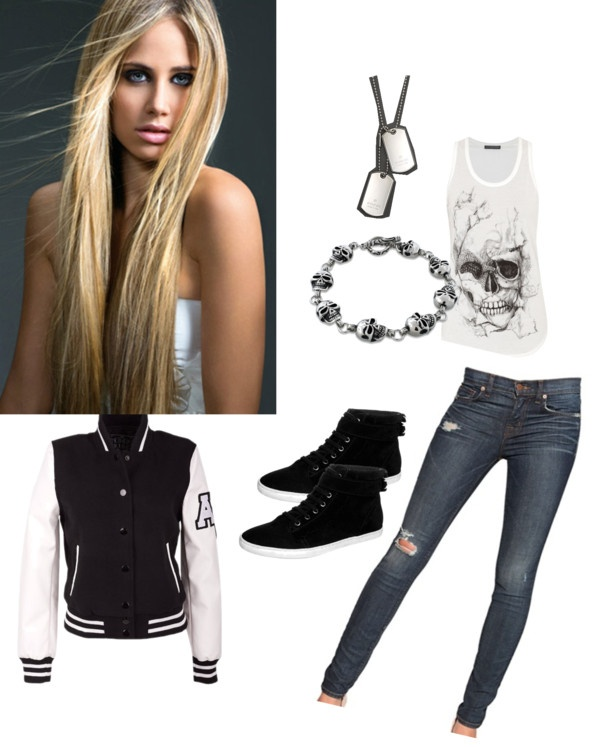 """""""gone the innocent girl u used to know"""" by hajarx ❤ liked on Polyvore"""