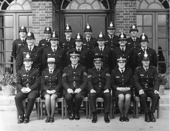 North Riding Constabulary Newby Wiske Hall Training Centre Police Police Uniforms Police Women