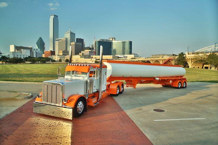 Rethwisch's 2012 Peterbilt 389 and matching tanker