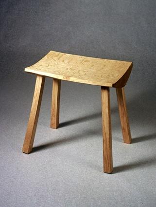 Cleft Oak Furniture   Cleft Stool.