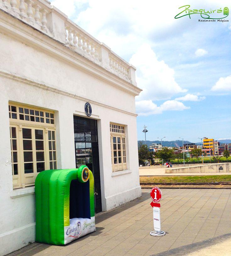 En la Estación del Tren encuentras el PIT - Punto de Información Turística Zipaquirá para que cuando nos visites no te pierdas ningún atractivo. #Zipaquirá #Zipaquiráturística #Colombia #larespuestaesCOlombia