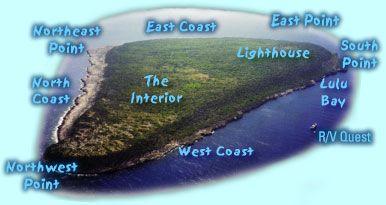 photographic map of Navassa Island