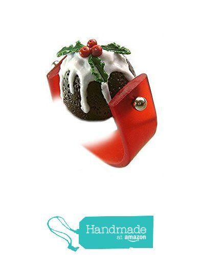 Fruit Cake Ring ~ Christmas Pudding Ring ~ Food Jewelry from HugsKissesMINI http://www.amazon.com/dp/B016C4O53K/ref=hnd_sw_r_pi_dp_Kk-nwb1QVDMR2 #handmadeatamazon