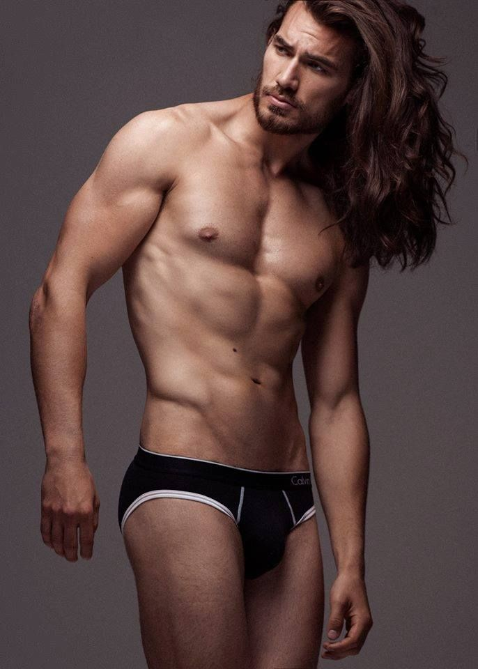 hot sexy guys long hair