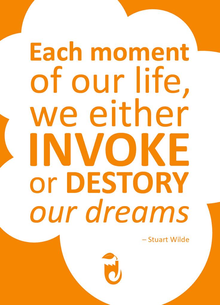 Quote from Stuart Wilde #stuartwilde #jamfactory #quote #dreams