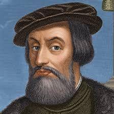 Dit is Hernán Cortés. Hij is geboren in Medellín 1485 en overleed op 2 dec 1521. Hij had 5 kinderen 4 dochters en 1 zoon.  Hij was een Spaanse conquistador. Hij staat bekend om het veroveren van Mexico tussen 1519 en 1521. Met hulp van de tolk la Malinche.