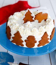 jultårta, tårta till jul Jultårta