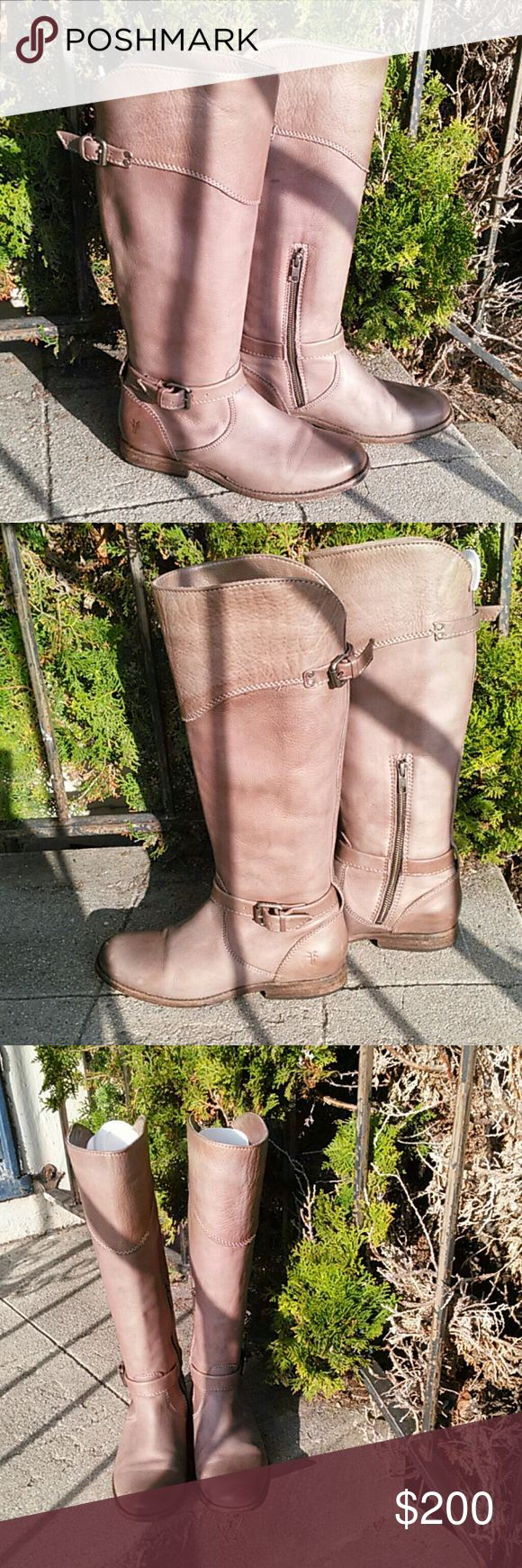 Frye Phillip Tall Riding Boot Soft Leather Very good frye Shoes Ankle Boots & Booties