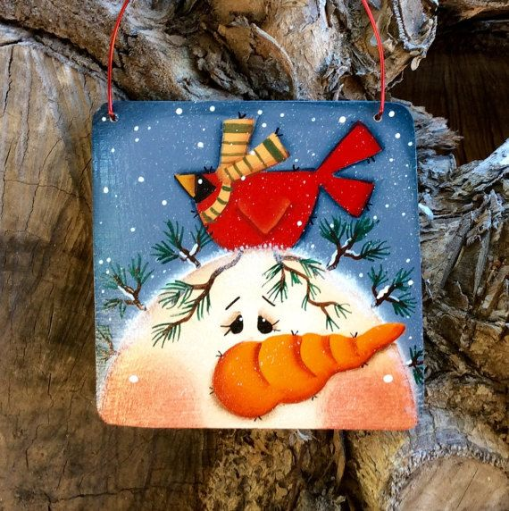 NEW 2015 Charming Snowman Ornament