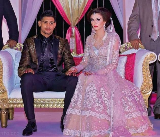 Amir Khan And Faryal Makhdoom S Exclusive Valima Reception Pictures
