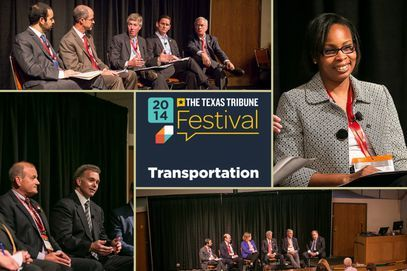 2014 Texas Tribune Festival featured panel discussions on road funding, high-speed rail, transportation planning and the new urban mobility. Listen to audio from each session.
