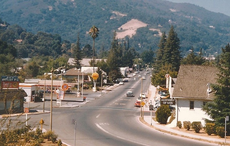 Los Gatos California in 1962.....I was gone by then, never to return.