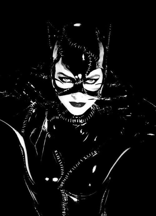 Michelle Pfeiffer as Catwoman in 'Batman Returns, 1992.