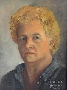 Painting - Self Portrait 2014 by Randol Burns