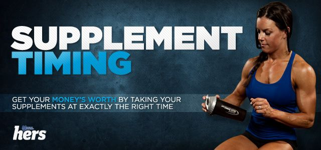 You'll go broke if you take all the recommended supplements outlined here, but it's a great breakdown of when to take what.