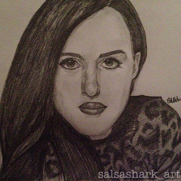 Kat Dennings sketch