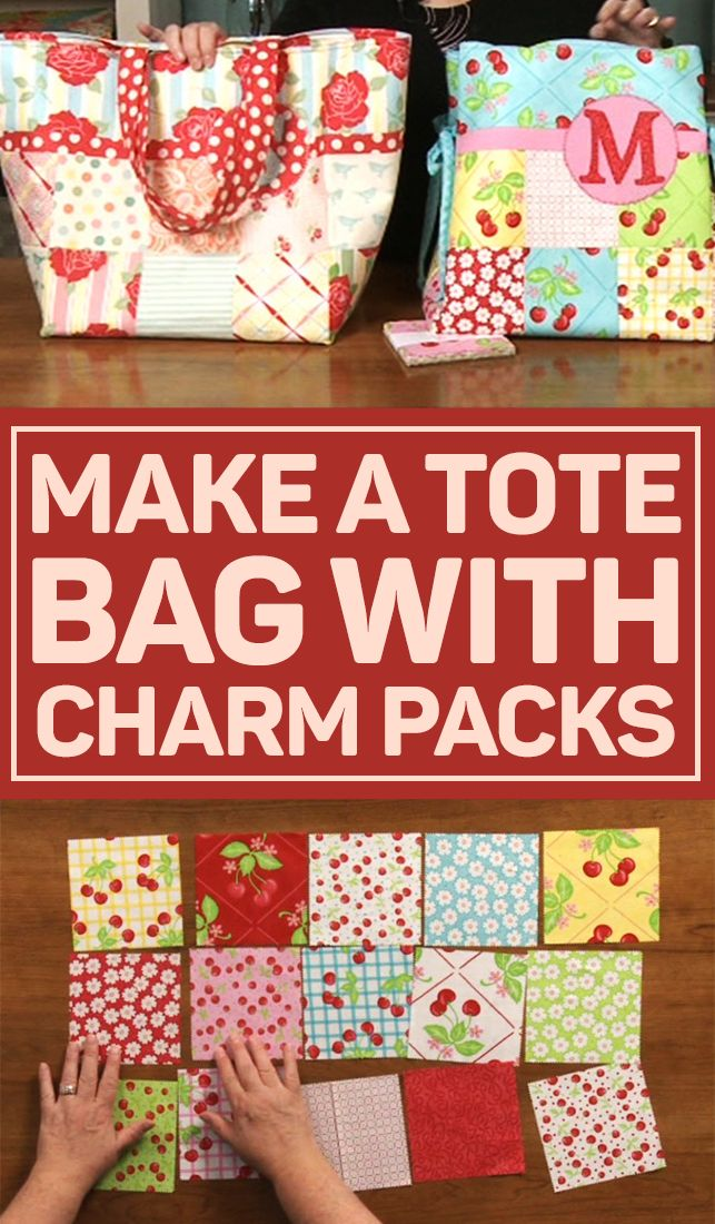 Sue Marsh takes you on a journey into the wonderful world of pre-cut fabric. She informs you about the dimensions and purposes of the new charm packs, layer cakes, and jelly rolls along with other cuts. Furthermore, learn how to make a tote bag using some of these fabrics.