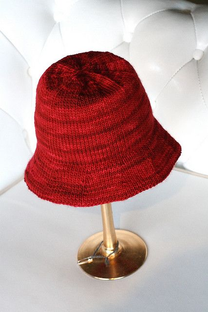 Knitted Bucket Hat Pattern : 15 best images about KNIT HAT Patterns for Misty on Pinterest Bucket hat, F...